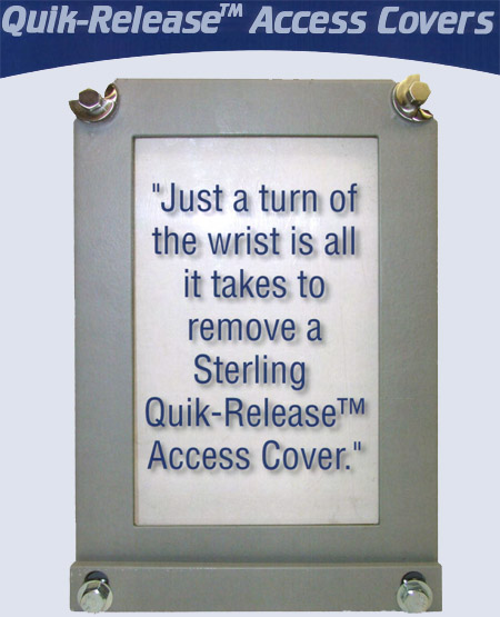 Quik-Release Access Covers