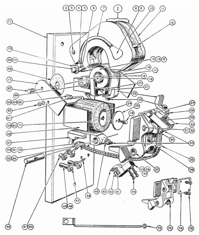 Wiring Diagram For Single Phase Contactor